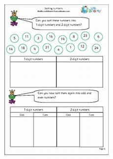 sorting data worksheets grade 1 7773 sorting numbers handling data maths worksheets for year 2 age 6 7