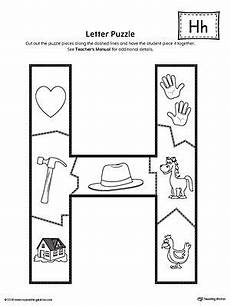 multiplication worksheets with pictures 4661 letter h puzzle printable lettering preschool pictures letter h worksheets