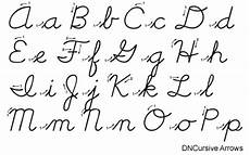 cursive handwriting worksheets with arrows 21971 buy dncursive classic arrows font for windows macintosh and linux