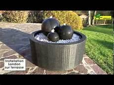 fontaine en pour jardin installation de la fontaine 240p