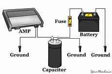 car capacitor wiring diagram wiring diagram and schematic diagram images