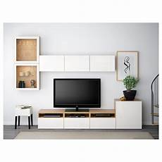 best 197 tv storage combination glass doors oak effect