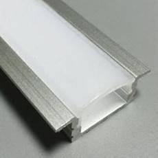 profilé led encastrable profil 233 led encastrable complet en alu 25 x 7 mm mod 232 le