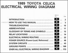 85 toyota celica fuse diagram 1989 toyota celica wiring diagram manual original