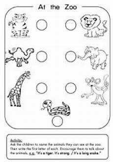 zoo animals esl worksheet by 3mmm