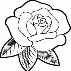 Gambar Bunga Mawar Hitam Putih Harian Nusantara