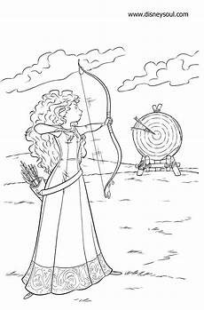 disney soul dibujos para colorear de quot brave indomable