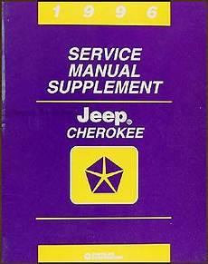 service manuals schematics 1996 jeep grand cherokee interior lighting 1996 jeep cherokee repair shop manual supplement original