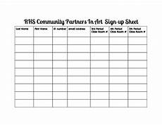art club sign up sheet by mrs capuchino mendoza s multimedium art shop