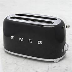 smeg toaster günstig smeg 4 slice toaster williams sonoma