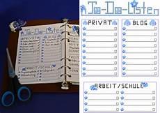 organizer planer todoliste privat arbeit schule