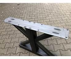 tischgestell metall industriedesign tischgestell grau