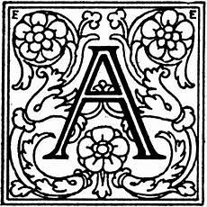 Decorative Letter A Clipart Etc