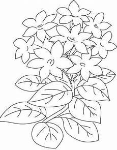 Gambar Batik Motif Tumbuhan Hitam Putih Batik Indonesia