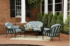 chandler 4pc outdoor seating get your sumptuous seating at kmart
