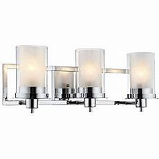modern wall light chrome wrapped wire 22 quot wide vanity fixture bathroom over mirror possini