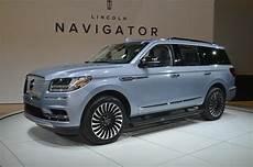 2018 Lincoln Navigator Black Label Is A Three Row