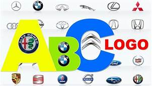 Learn Car Lgo Brands From A To Z  Full Alphabet