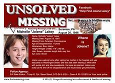 missing person pa purple toyota michelle lakey august 26 1986 scranton pa