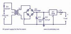Alarm Circuit Filling Diagram