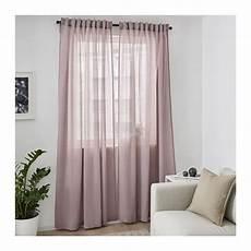 hilja gardinenpaar rosa in 2019 ikea curtains