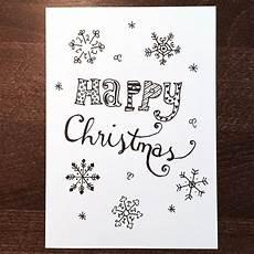 doodle diy doo 7 ideen zum weihnachtskarten zeichnen