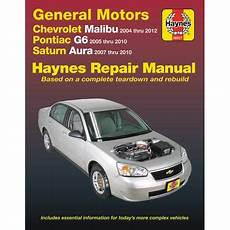 old cars and repair manuals free 2008 saturn vue navigation system chevrolet 04 12 pontiac g6 05 10 saturn aura 07 10 haynes repair manual does