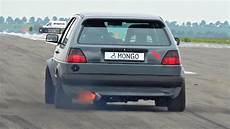 Vw Golf Vr6 - 800hp vw golf mk2 vr6 turbo acceleration sound
