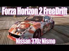 forza horizon 2 freedrift at nissan 370z nismo