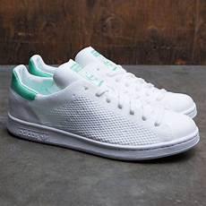 adidas stan smith primeknit white footwear white green