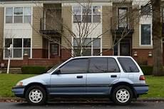 Honda Civic Kombi - parked cars 1990 honda civic wagon