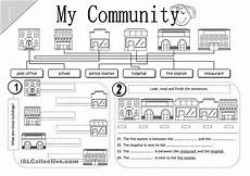 places in community worksheets 15955 14 best images of my community worksheets printable my community worksheet free printable