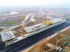 Blick Auf Die Noch Im Bau Befindliche Neue Formel 1