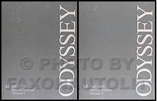car repair manual download 2007 honda odyssey electronic toll collection 2007 2009 honda odyssey repair shop manual original 2 vol set