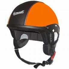 casque cromwell custom orange mat au meilleur prix