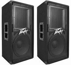 2 Peavey Pv112 12 Quot Two Way 1600 Watt Pro Audio Live Sound