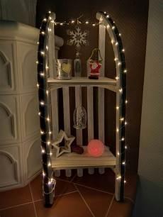 schlitten weihnachtlich dekoriert diy advent