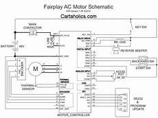 fairplay wiring diagram ac motor cartaholics golf cart