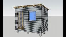selber haus bauen gartenhaus selber bauen diy 1 elemente aufstellen