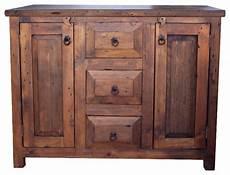 waschtisch holz landhausstil 3 drawer reclaimed wood vanity rustic bathroom