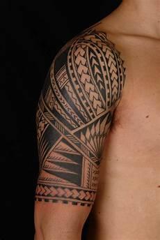 Maori Arm - maori polynesian polynesian half sleeve