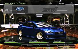 Need For Speed Underground 2 Cars By Subaru  NFSCars