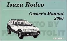 book repair manual 1992 isuzu rodeo on board diagnostic system 2000 isuzu rodeo free repair manual isuzu rodeo sport 1998 2004 factory service repair