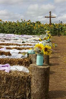 a wedding in a sunflower field a delightsome life
