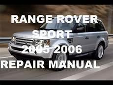 car repair manuals online free 2006 land rover lr3 seat position control range rover sport 2005 range rover sport 2006 repair manual youtube