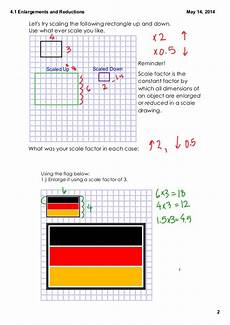 4 1 enlargements and reductions