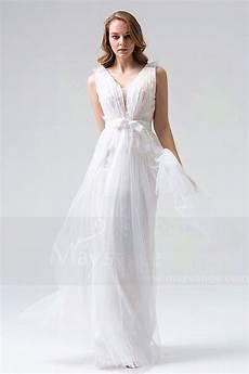 tenue chetre pour mariage robe soir 233 e blanc dentelle chic pour mariage pas cher