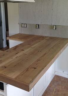 Kitchen Counter Trim by Diy Reclaimed Wood Countertop Projects Reclaimed Wood