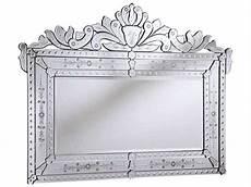 elegant lighting venetian 39 w x 55 h clear wall mirror