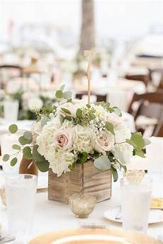 chagne and ivory south ta waterfront wedding wedding reception tables
